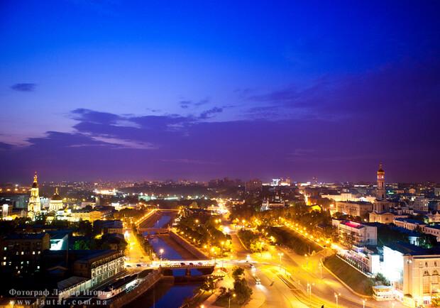Харьков с высоты на новых видео - Харьков Vgorode.ua