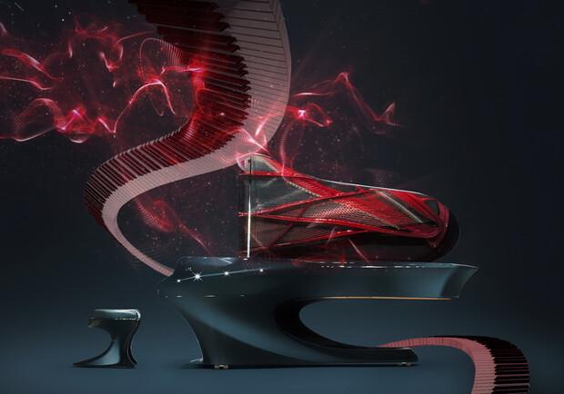 Piano Space в планетарии
